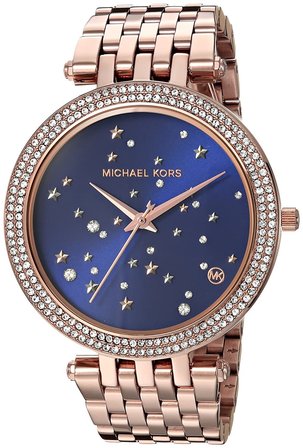 san francisco classic styles cheaper Michael Kors Women's Darci Quartz Watch with Stainless-Steel Strap, Rose  Gold, 13 (Model: MK3728)