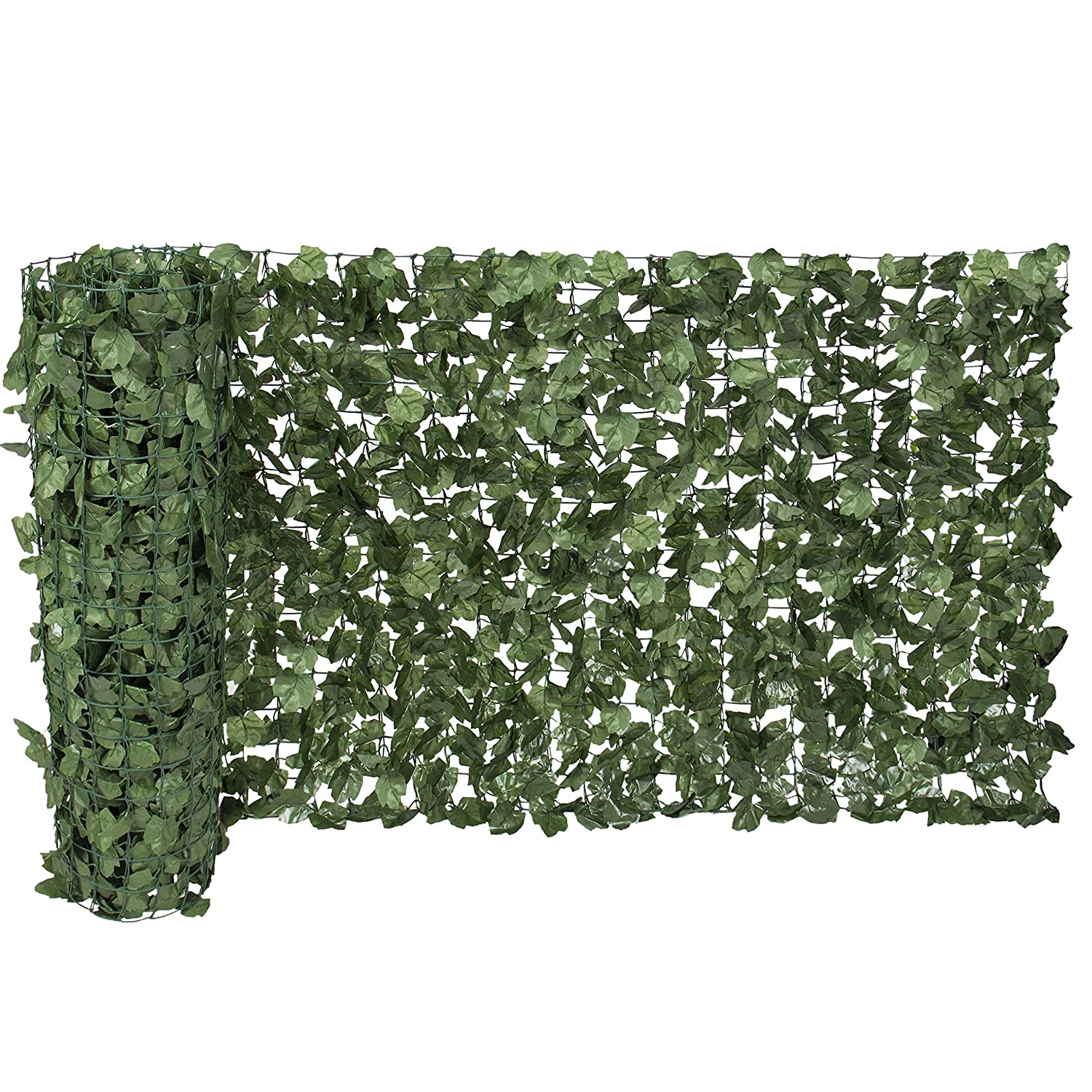 amazon com best choice products faux ivy privacy fence screen 94