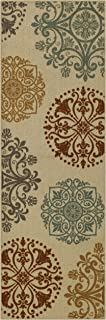 product image for Maples Rugs 2 x 6 Non Skid Hallway Entry Rugs Runners [Made in USA] for Kitchen and Entryway, Multi