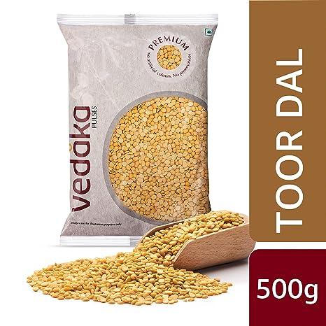 Amazon Brand - Vedaka Premium Toor Dal, 500g