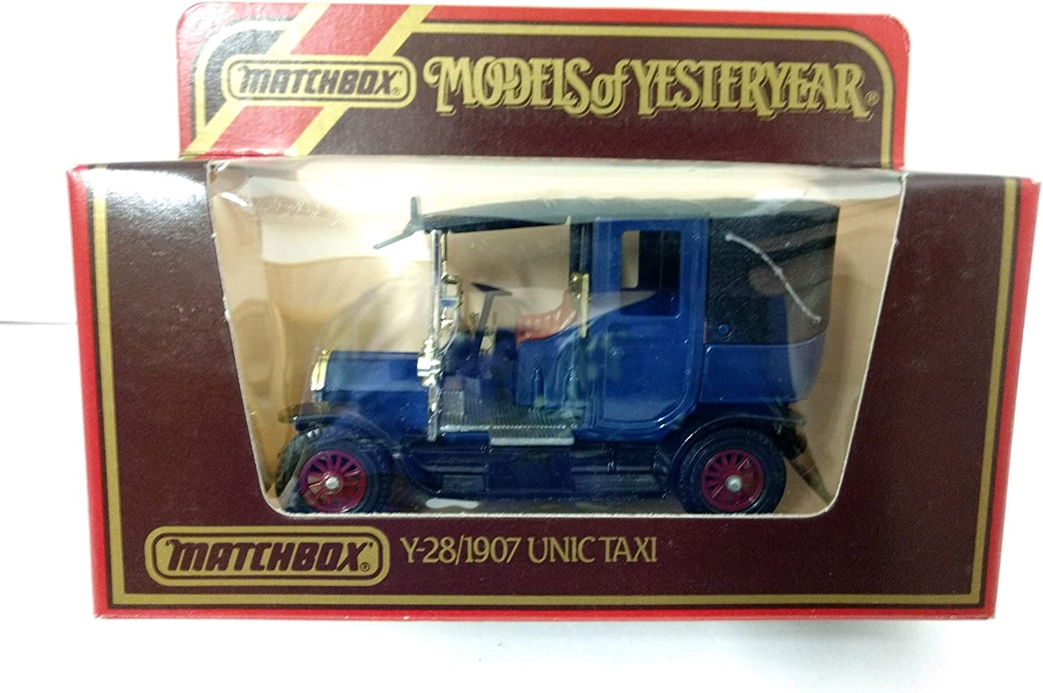 Matchbox Models of Yesteryear Y-28 1907 Unic Taxi