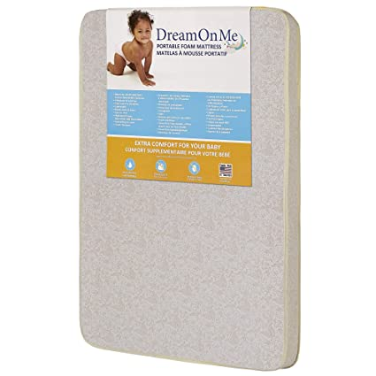 UBBCARE Fitted Foldable Memory Foam Pack n Play Mattress Pad Portable Playard Mattresses 38X26x3 with Washable Cover /& Storage Bag
