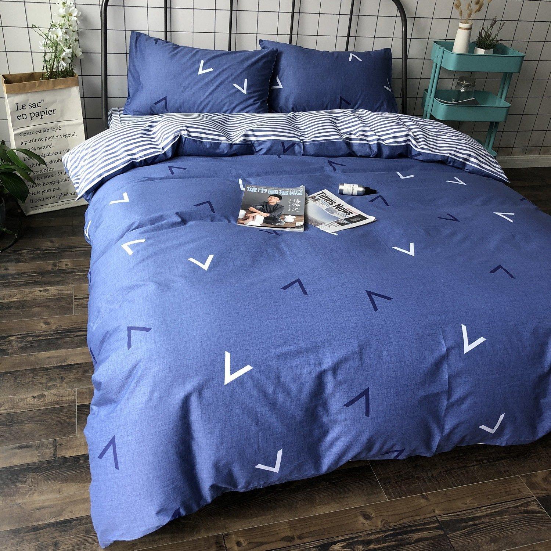Amazon Com A Ideal Life 3 Piece Quilt Set Washable Reversible