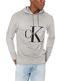 Calvin Klein Mens Reissue Logo Hoodie Hoodies & Sweatshirts