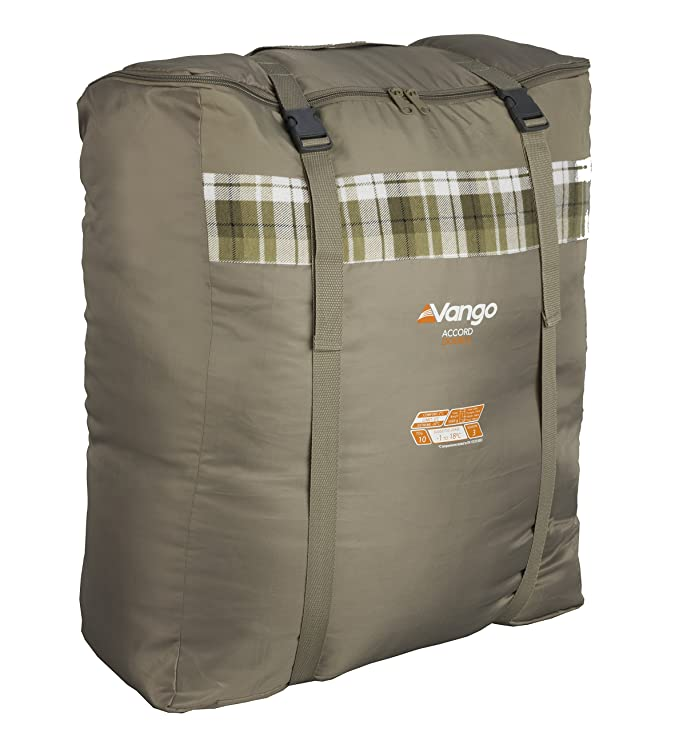 Vango Accord Double Sleeping Bag, Unisex, Marrón Nutmeg Print, Talla Única: Amazon.es: Deportes y aire libre