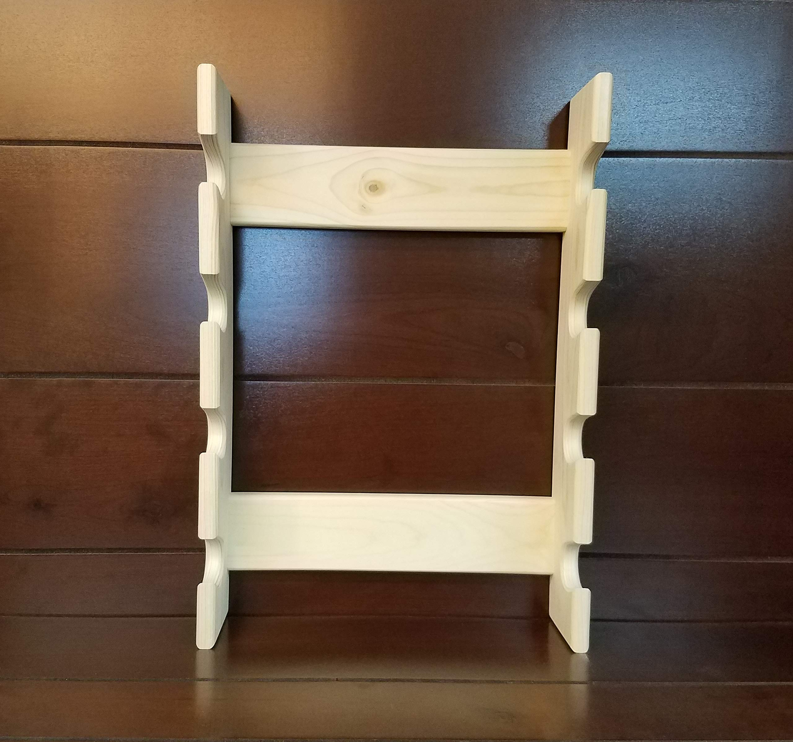 Rolling Pin Rack with Four Slots - Multiple Rolling Pin Rack - Rolling Pin Holder - Rolling Pin Storage - 4 Rolling Pin Rack by Rusty Nail Custom Woodworking (Image #6)