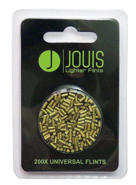 Jouis Lighter Flints - 200x High Quality Gold Universal Lighter Flints