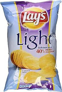 Lays Light - Patatas Fritas con 40% menos de grasa, ...