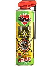Zig Zag, Vespaio Precision, Insetticida Vespe spray ad azione immediata, con valvola a doppia erogazione, formato 400 ml
