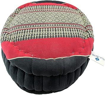 Amazon.com : Blue Orchid Zafu Kapok Meditation Cushion ...