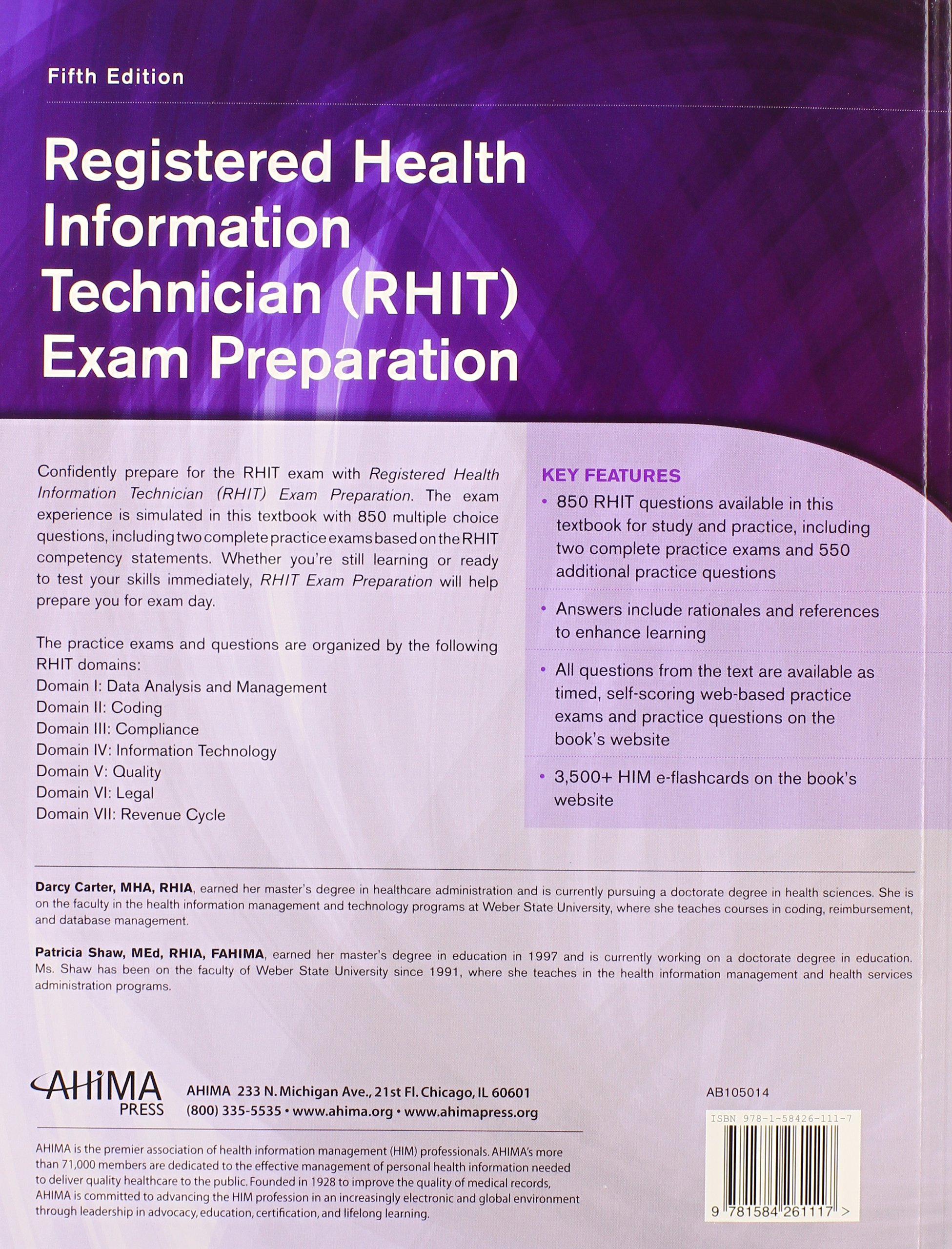 Buy Registered Health Information Technician Rhit Exam Preparation