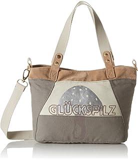 Glückspilz Strandtasche, Farbe:taupe;Größe:ohne Größe Adelheid