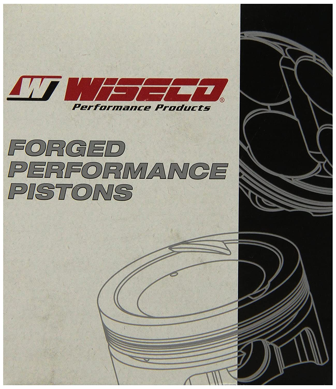 Wiseco 4816M06550 65.50mm 11:1 Compression Motorcycle Piston Kit