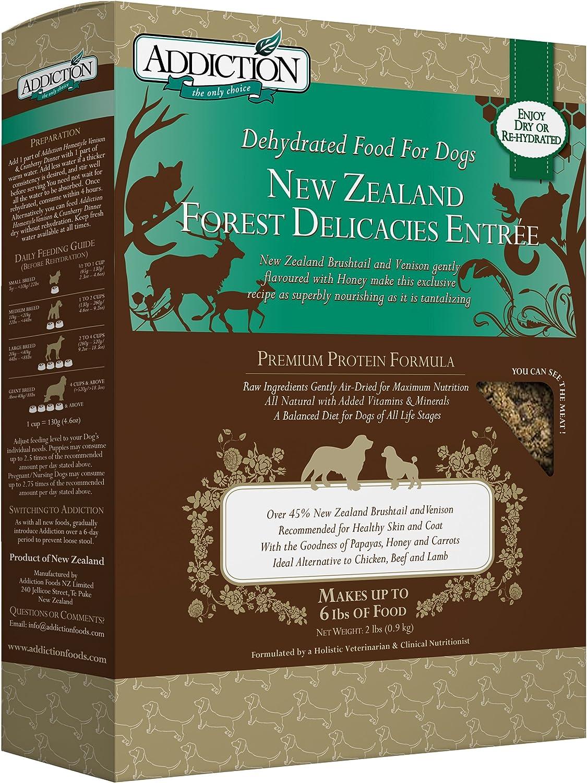 Addiction Grain Free Dehydrated Dog Food Brushtail & Venison