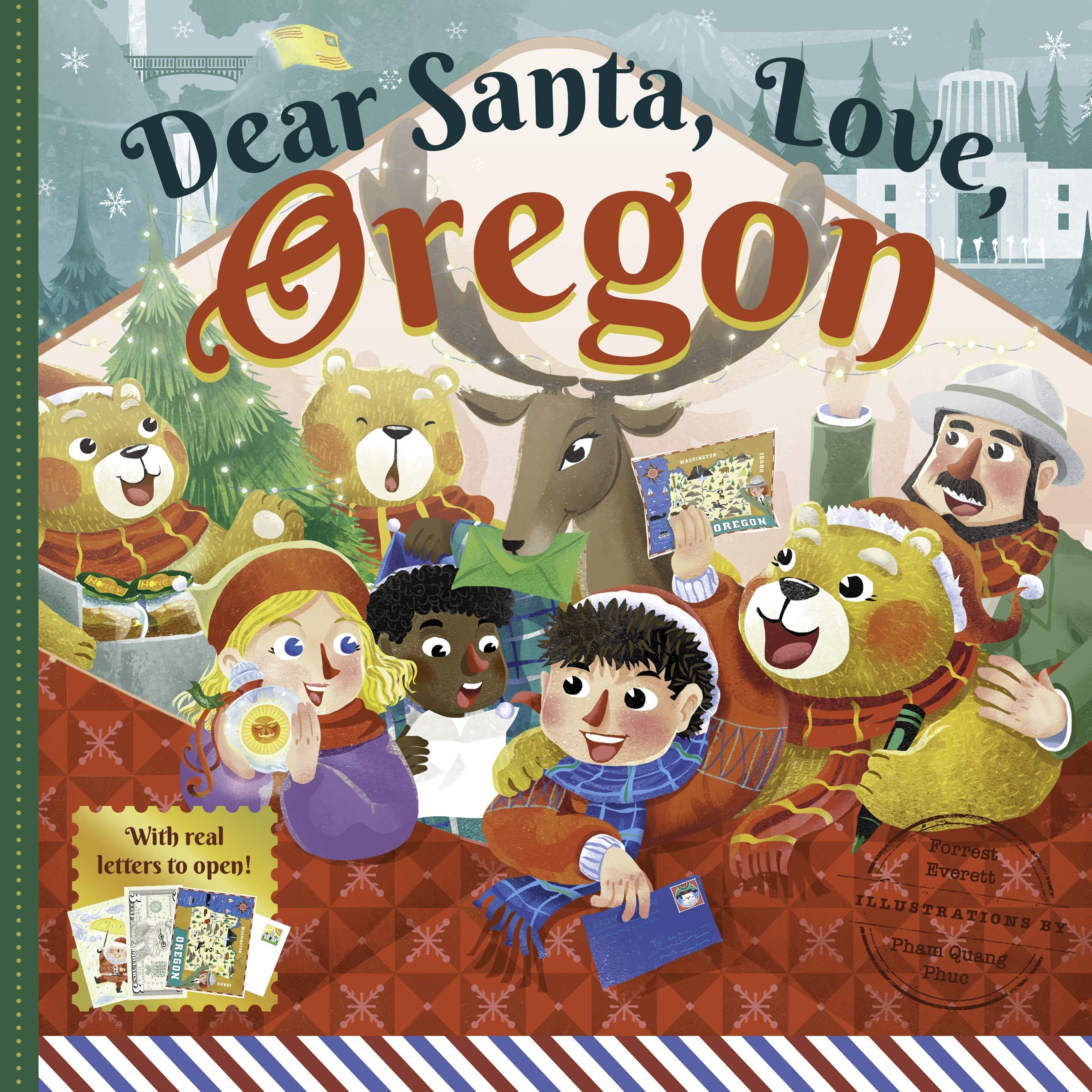 Christmas Celebration Cartoon Images.Dear Santa Love Oregon A Beaver State Christmas