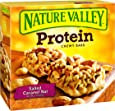 Nature Valley Protein Chewy Bars, Salted Caramel Nut, 1.42 Ounce Bar, 5 Count
