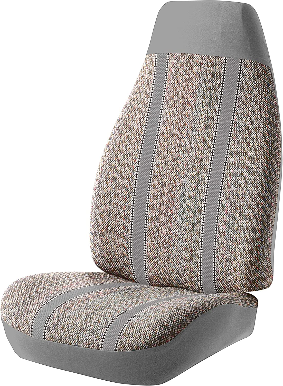 Gray Fia TR42-36 GRAY Custom Fit Rear Seat Cover Split Cushion 60//40 Saddle Blanket,