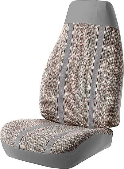 Gray FIA SP84 GRAY Universal Fit Truck Bench Seat Cover