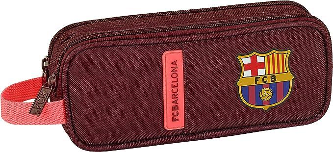 SAFTA Estuche F.C. Barcelona 3ª Equip 17/18 Oficial Escolar 210x60x80mm: Amazon.es: Ropa y accesorios