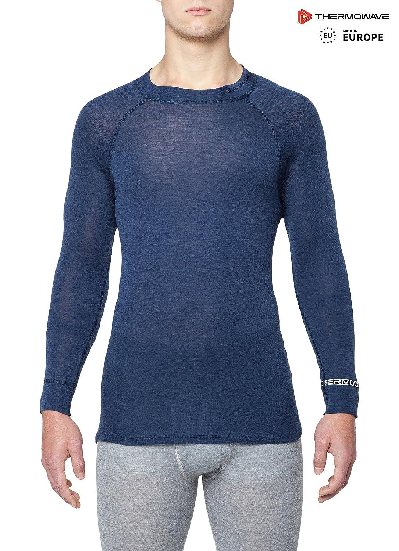 Thermowave - Merino Warm/Mens 100% Merino Wool 180GSM Thermal Underwear Shirt