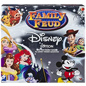 Disney Family Feud Signature Game by Disney