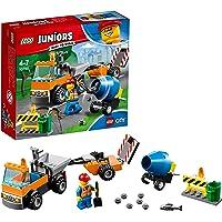 LEGO Juniors Road Repair Truck Building Blocks for Kids 4 to 7 Years (73 pcs) 10750