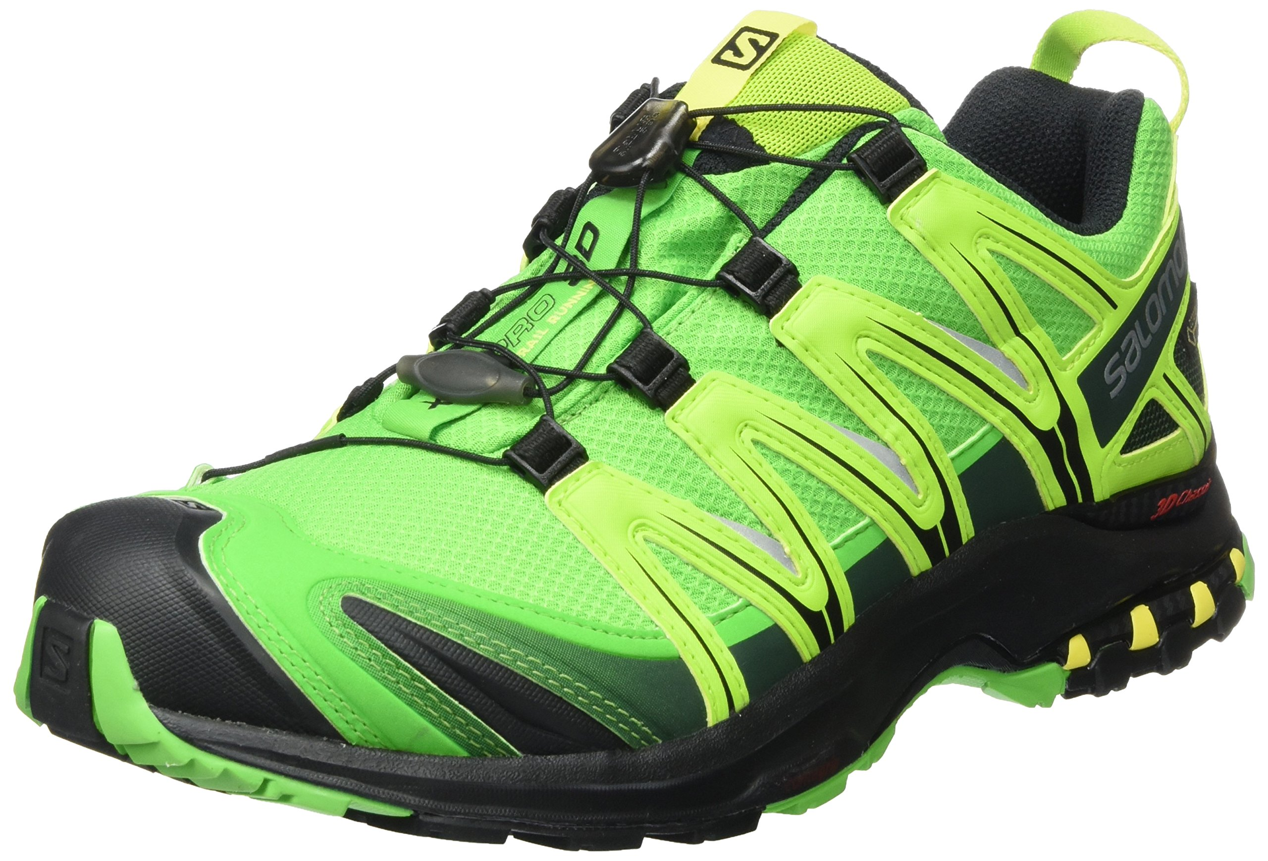 16af81e2fa7c Galleon - Salomon Men s XA PRO 3D GTX Classic Green Black Blazing Yellow  Athletic Shoe