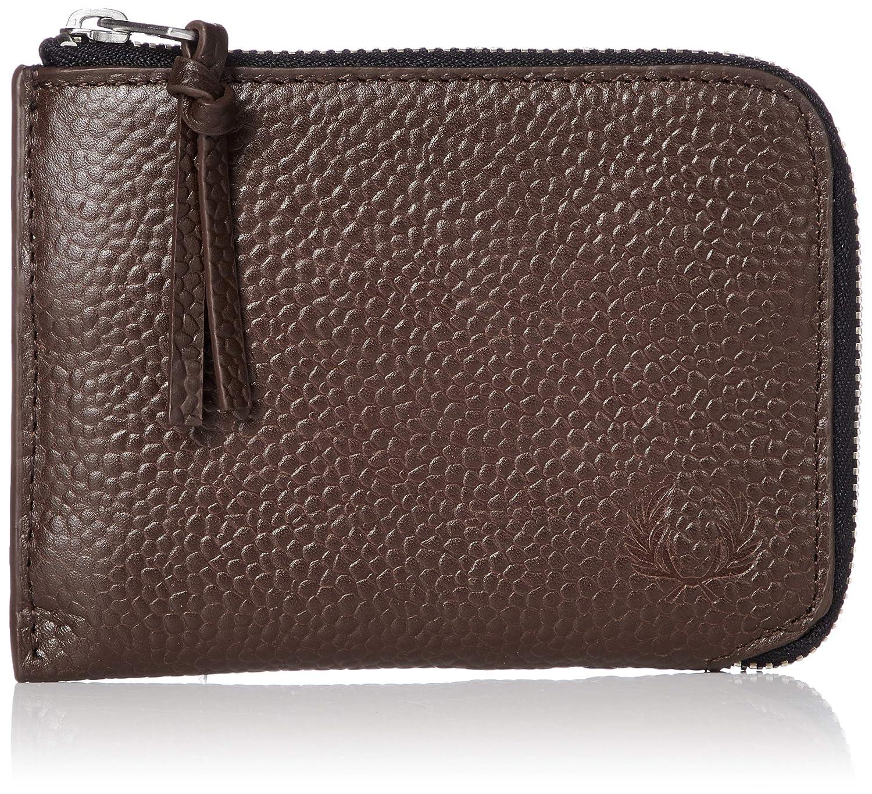 [フレッドペリー] 財布 Scotch Grain Leather Zip Around Wallet L5289 L5289 B07KY4MQ6G H56DARK BROWN