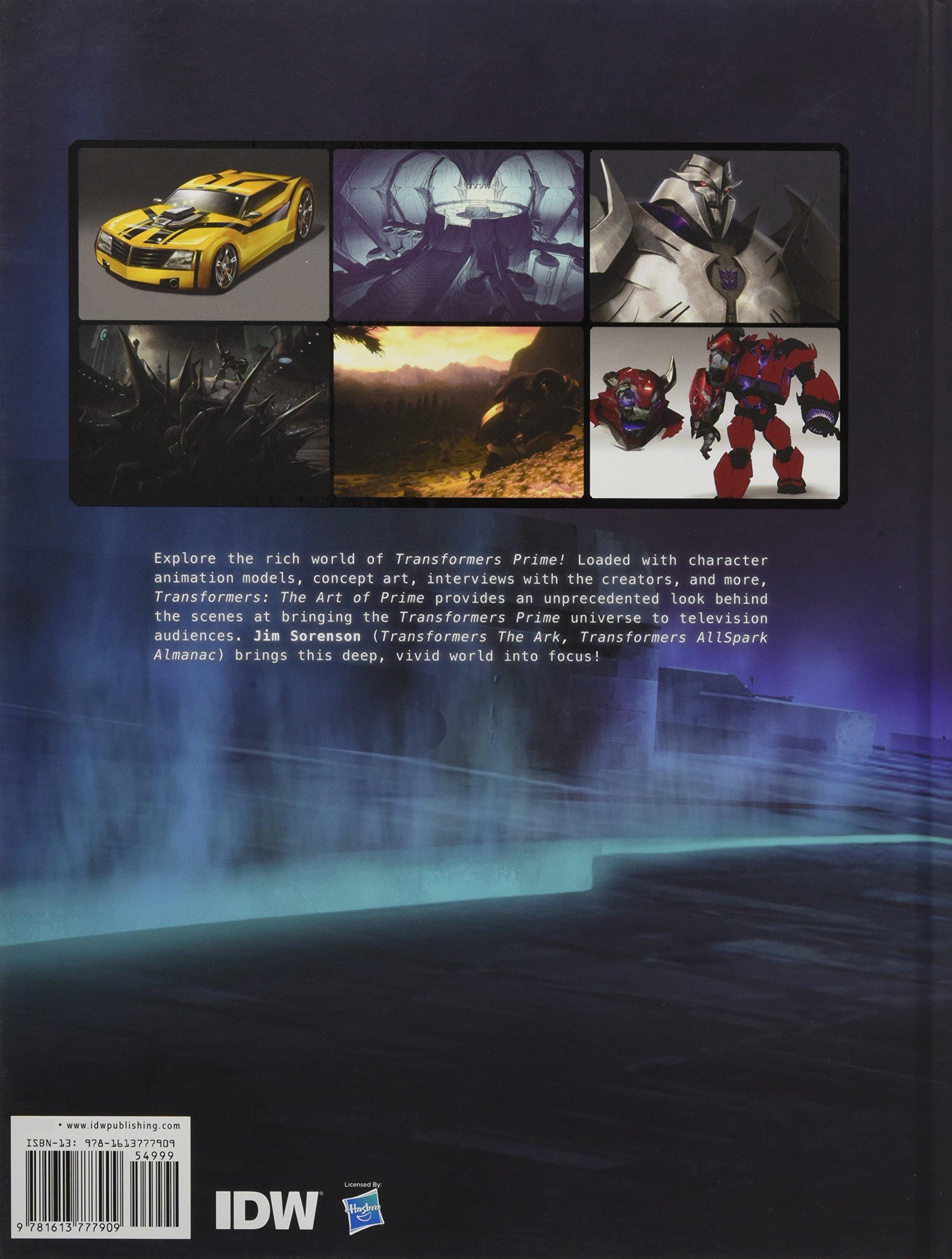 Amazon Fr Transformers Art Of Prime Jim Sorenson Various Livres