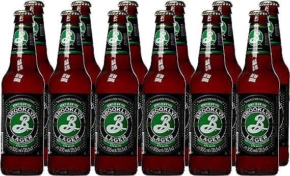 2b8adcf9 Brooklyn Lager, 12 x 355 ml: Amazon.co.uk: Grocery