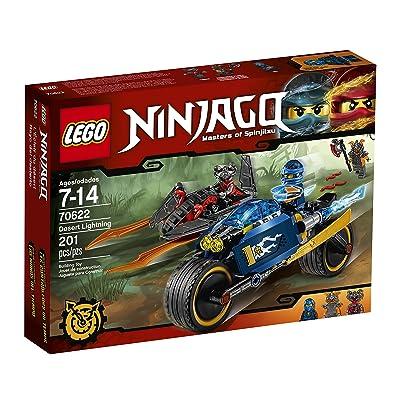 LEGO Ninjago Desert Lightning 70622: Toys & Games