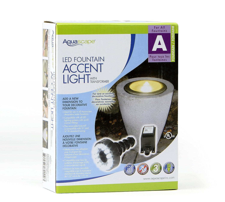 amazon com aquascape 84008 led fountain accent light for fountains