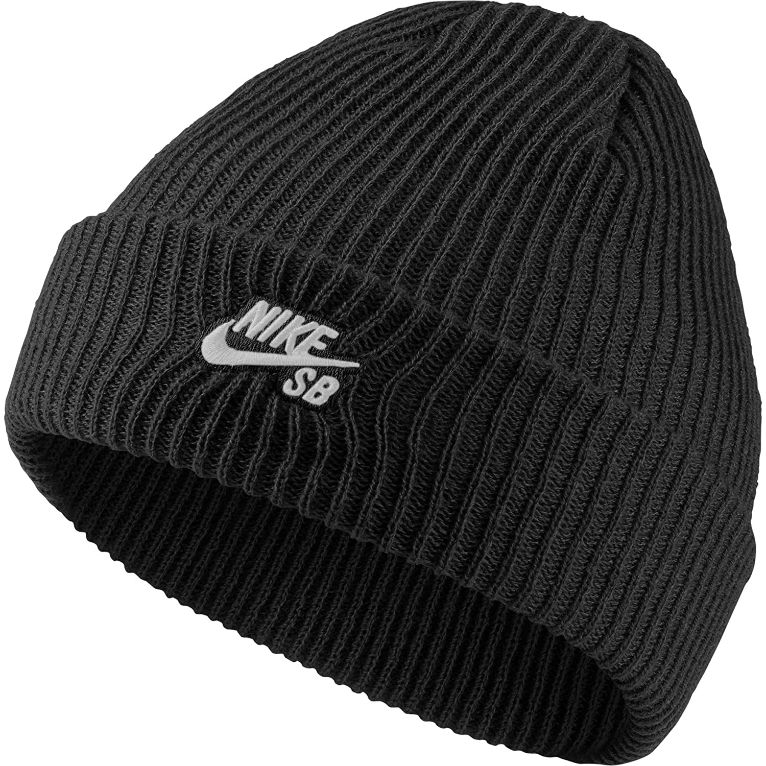 1f0ffe9f535830 Nike Sb Fisherman Beanie, Hat Unisex Adult, Multicolor (Black / White), One  Size: Amazon.co.uk: Shoes & Bags