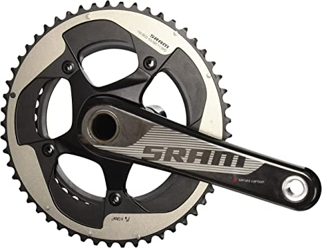 Sram Road 11-Speed Yaw 53-39T - Biela para Bicicletas (178 mm), Color Negro, Talla 17.75 cm: Amazon.es: Deportes y aire libre