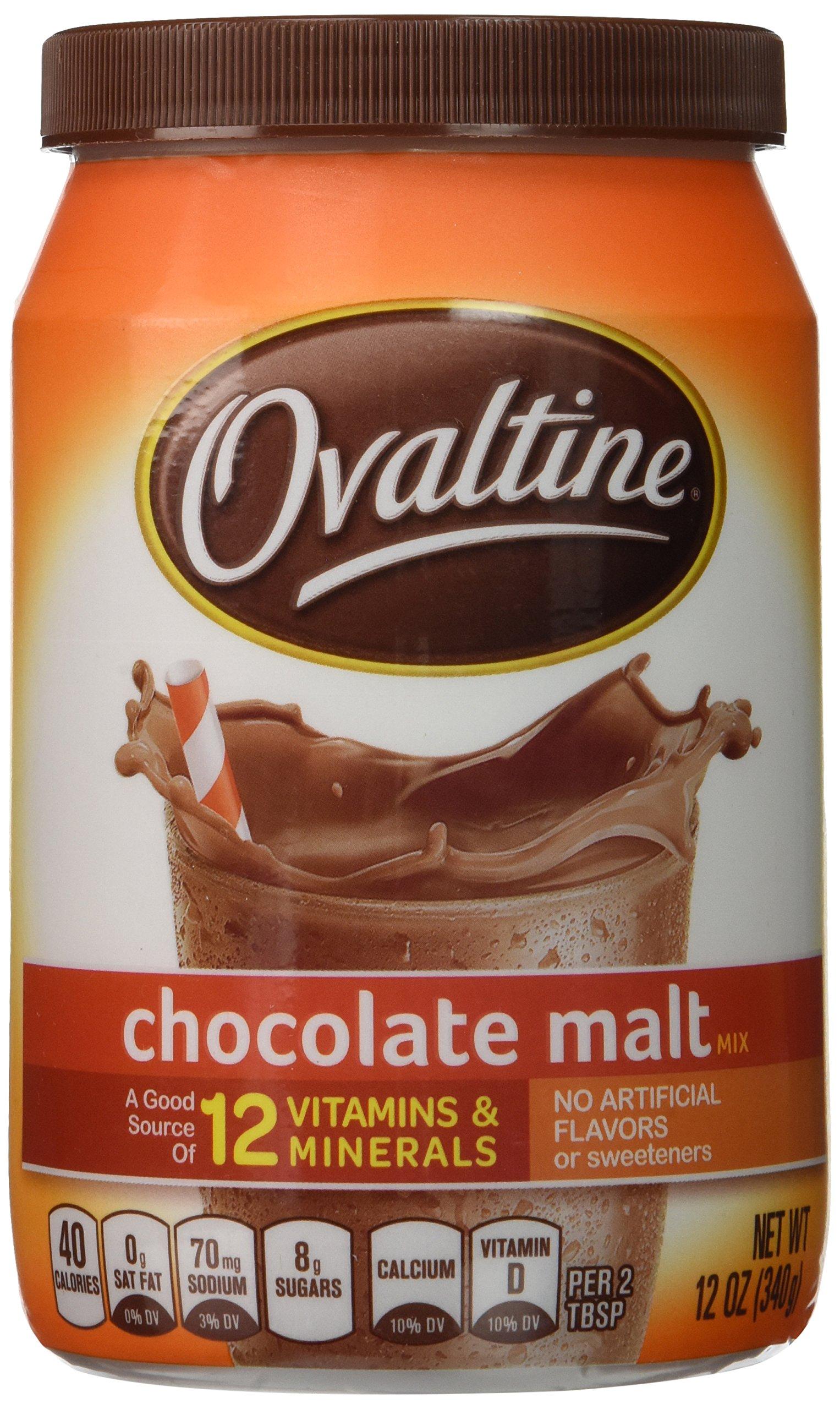 Ovaltine, Chocolate Malt Drink Mix (2 Pack)