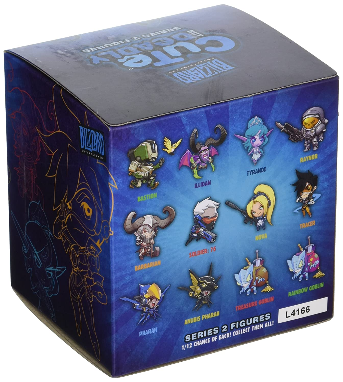 sprzedaje tak tanio za pół Blizzard Entertainment Cute But Deadly Series 2 Vinyl Figure Blind Box  Contains: 1 Random Figure from Overwatch, Diablo, World of Warcraft Or ...