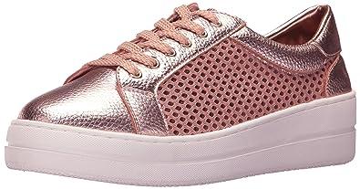 STEVEN by Steve Madden Women's Nyssa Sneaker, Rose Gold, ...