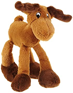 Trixie juguete de perro de peluche alce, 30 cm