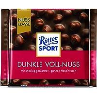 Ritter Sport Dark Whole Hazelnuts, 100g