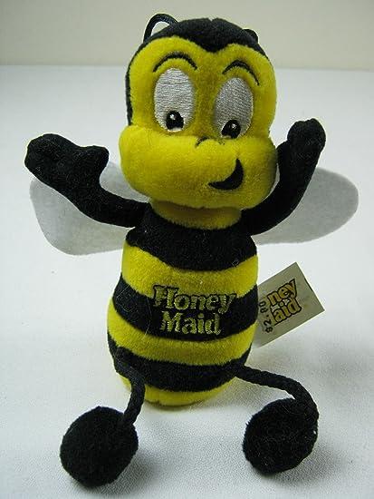 Fabulous Amazon Com Honey Maid Mascot Bee Bean Bag Toys Games Forskolin Free Trial Chair Design Images Forskolin Free Trialorg