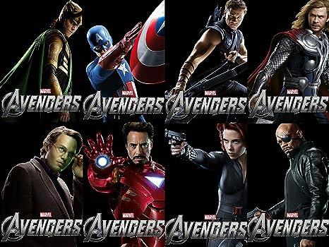Posterhouzz The Avengers Avengers Iron Man Thor Captain