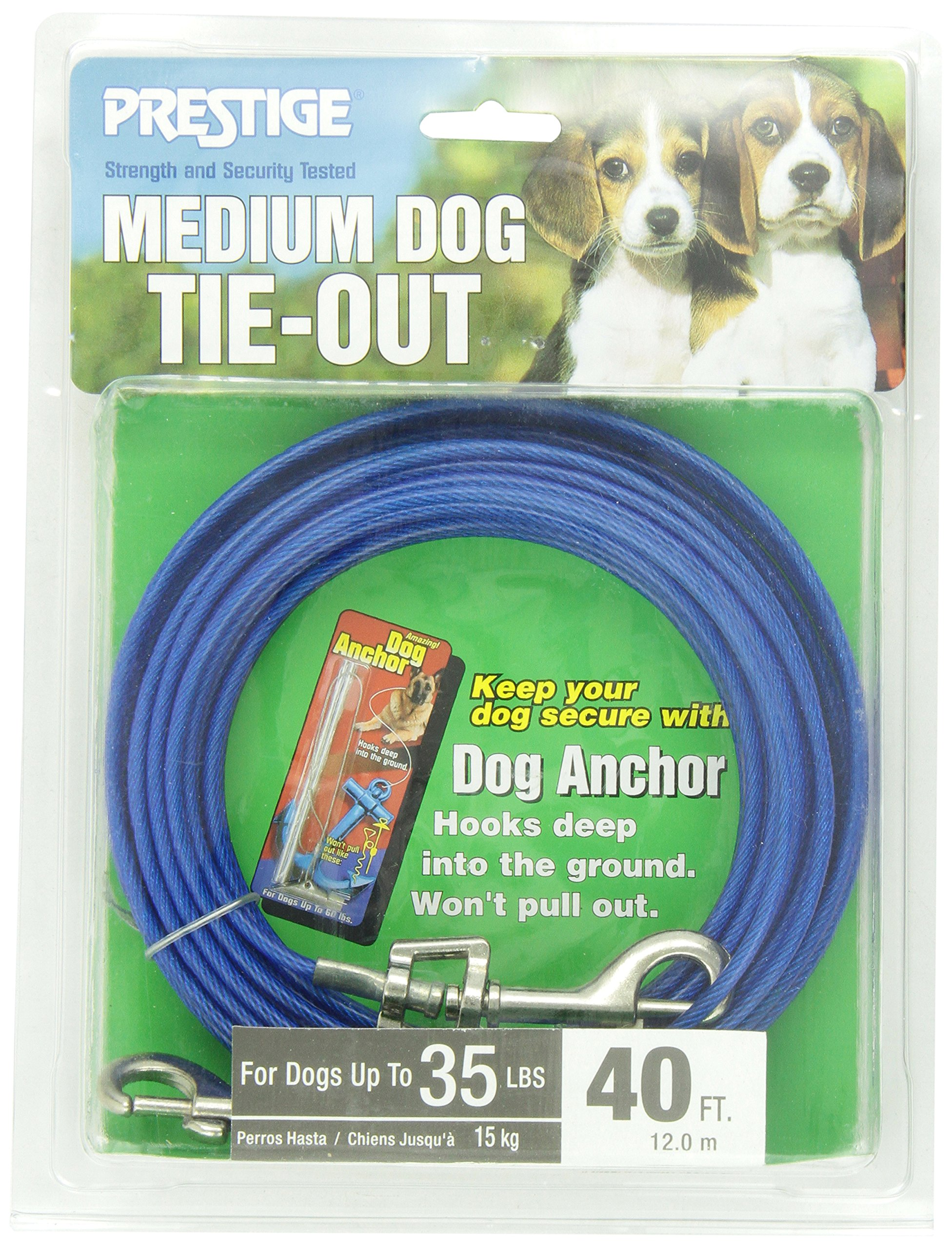Boss Pet - Prestige 40ft Medium Dog Tie Out by Boss Pet Products (Image #3)