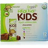 Orgain Healthy Kids Organic Nutritional Shake, Chocolate, 8.25 Ounce, 12 Count