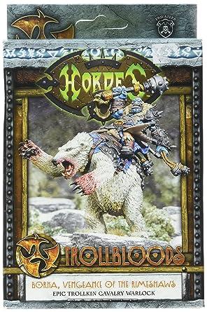 Privateer Press hordas - trollblood - Borka Vengeance de rimeshaws ...