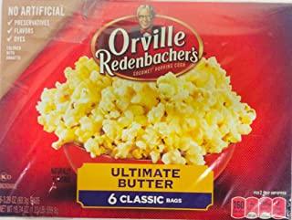 product image for Orvillle Redenbacher's Ultimate Butter Microwave Popcorn, 6 Classic Bags (2 boxes)
