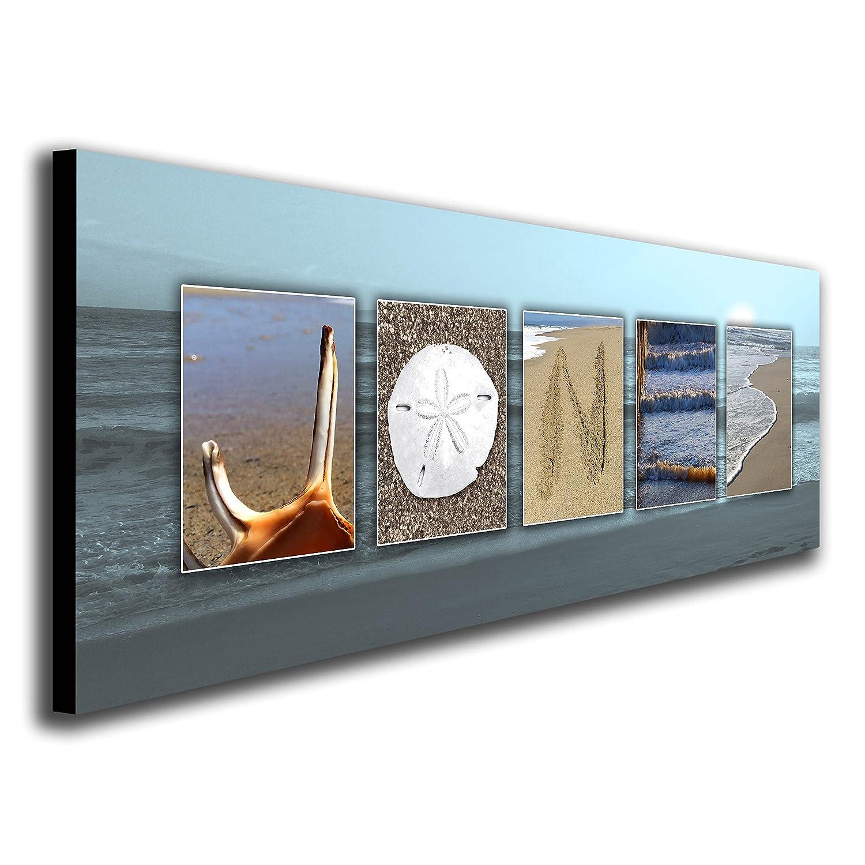 Amazon personalized coastal beach nautical name art decor amazon personalized coastal beach nautical name art decor gift block mount 95 x 26 posters prints amipublicfo Choice Image