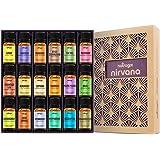 Natrogix Nirvana Essential Oils - Top 18 Essential Oils Set 100% Pure Therapeutic Grade 18/10ml Incl. Lavender, Moroccan Rosemary, Tea Tree, Eucalyptus, Lemongrass and 13 More w/ Free E-Book