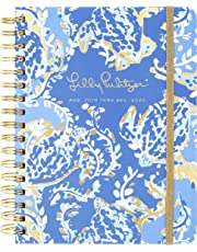 "$30 » Lilly Pulitzer Large Aug. 2019 - Dec. 2020 17 Month Hardcover Agenda, 8.88"" x 6.75"" Personal Planner with Monthly and Weekly Spreads, Turtley Awesome"
