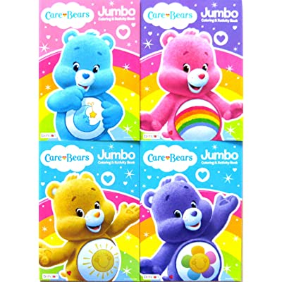 Care Bears Jumbo Coloring and Activity Book Set (Four 96-page Books): Toys & Games