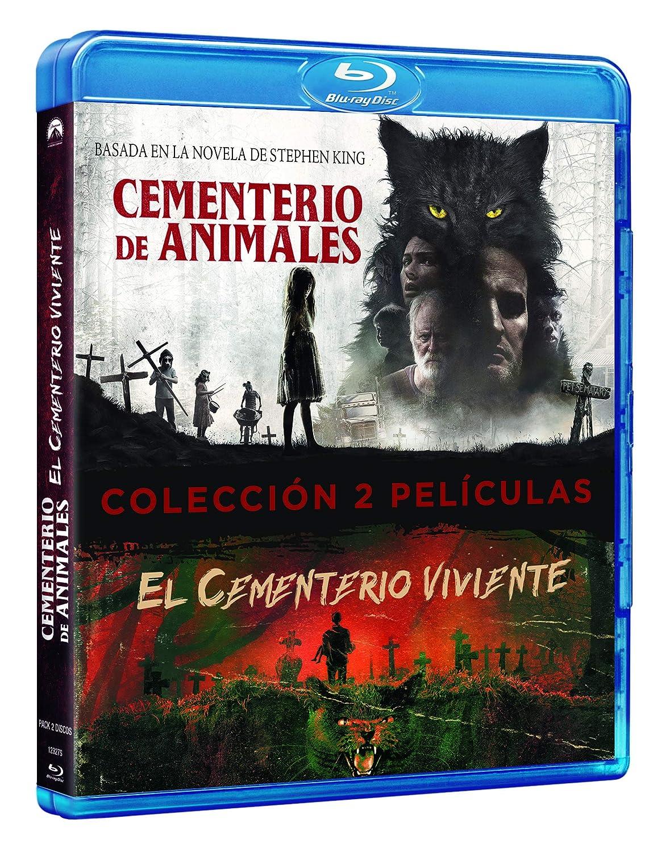 Pack: Cementerio Viviente + Cementerio de Animales BD Blu-ray ...